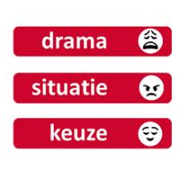 drama situatie keuze